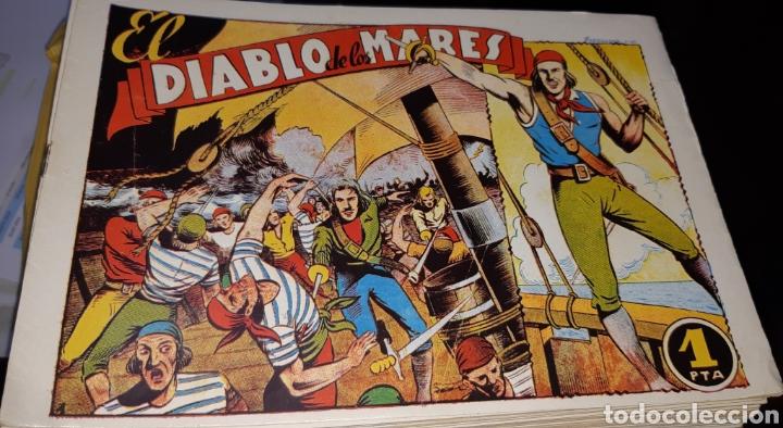 TEBEOS-COMICS CANDY - EL DIABLO DE LOS MARES - 1947 - TORAY - COMPLETA 68 EJ. - FERRANDO ***XX99 (Tebeos y Comics - Tebeos Colecciones y Lotes Avanzados)