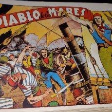 Tebeos: TEBEOS-COMICS CANDY - EL DIABLO DE LOS MARES - 1947 - TORAY - COMPLETA 68 EJ. - FERRANDO ***XX99. Lote 43064531
