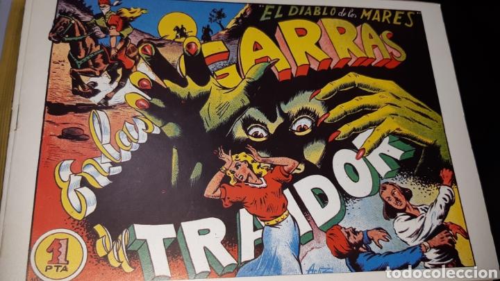 Tebeos: TEBEOS-COMICS CANDY - EL DIABLO DE LOS MARES - 1947 - TORAY - COMPLETA 68 EJ. - FERRANDO ***XX99 - Foto 2 - 43064531