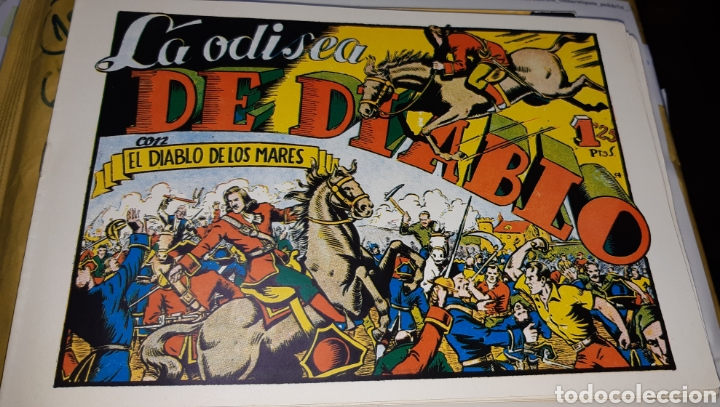 Tebeos: TEBEOS-COMICS CANDY - EL DIABLO DE LOS MARES - 1947 - TORAY - COMPLETA 68 EJ. - FERRANDO ***XX99 - Foto 5 - 43064531