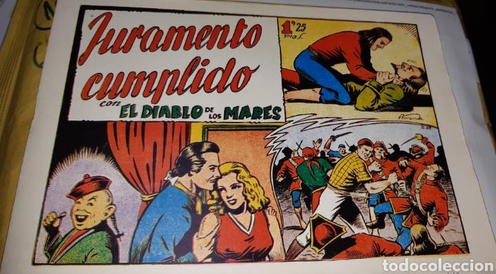 Tebeos: TEBEOS-COMICS CANDY - EL DIABLO DE LOS MARES - 1947 - TORAY - COMPLETA 68 EJ. - FERRANDO ***XX99 - Foto 6 - 43064531