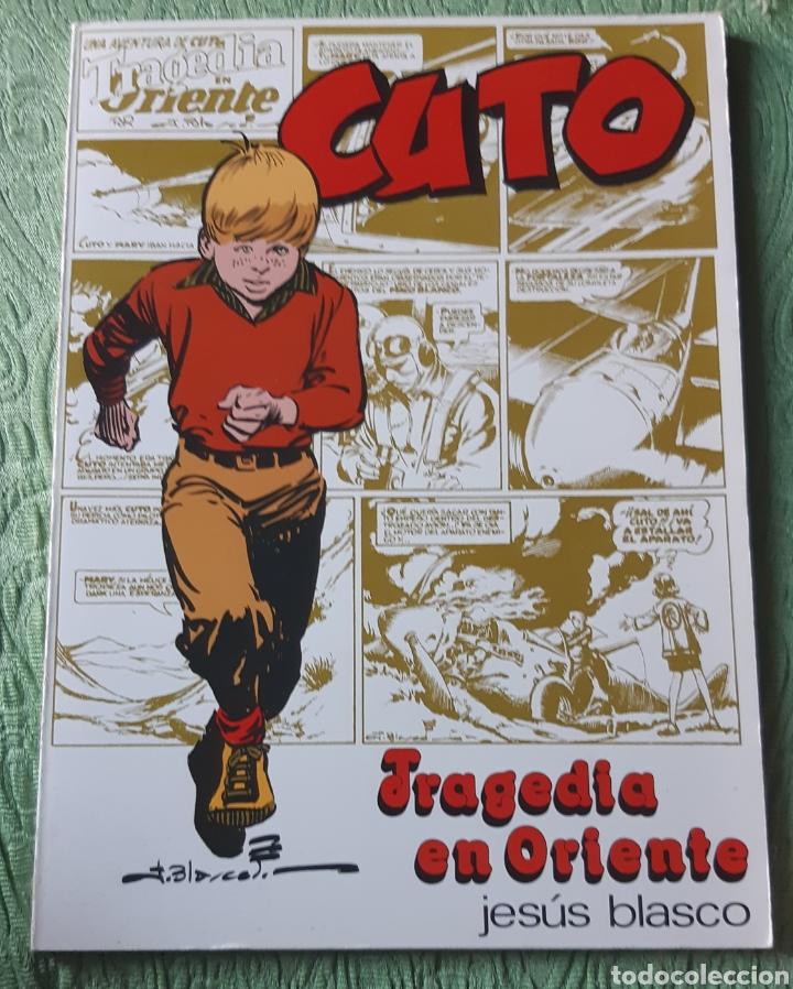 TEBEOS-COMICS GOYO - CUTO - TRAGEDIA EN ORIENTE - COMPLETA- BLASCO - AA97 (Tebeos y Comics - Tebeos Colecciones y Lotes Avanzados)