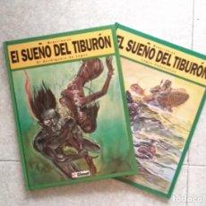 Livros de Banda Desenhada: EL SUEÑO DEL TIBURÓN - MATIAS SCHULTHEISS - GLENAT, 1994 - COLECCIÓN COMPLETA - NUEVOS.. Lote 215766076