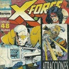 Livros de Banda Desenhada: X-FORCE, VOL. 1, Nº 25 (ESPECIAL 48 PG.) - FORUM (1994), EXCELENTE ESTADO -VER DESCRIPCIÓN. Lote 215799396