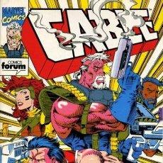 Tebeos: CABLE, VOL 1, Nº 2 - FORUM (1994) - EXCELENTE ESTADO. Lote 215804833