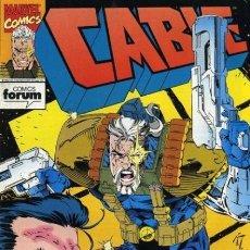 Tebeos: CABLE, VOL 1, Nº 3 - FORUM (1994) - EXCELENTE ESTADO. Lote 215804852