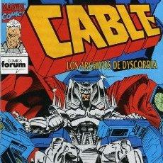 Tebeos: CABLE, VOL 1, Nº 12 - FORUM (1994) - EXCELENTE ESTADO. Lote 215804998
