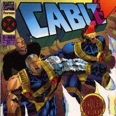 Tebeos: CABLE, VOL 1, Nº 21 (ÚLTIMO NÚMERO) (X-MEN)- FORUM (1994) - EXCELENTE ESTADO. Lote 215805080