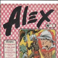 Tebeos: ALEX AÑO 1954 COLECCIÓN COMPLETA SON 10 TEBEOS ORIGINALES MUY DFICILES NUNCA A SIDO VISTA COMPLETA. Lote 216476301