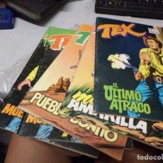 Tebeos: LOTE 5 TEX - EDICIONES ZINCO - NUMEROS 2 3 5 6 6. Lote 216666843