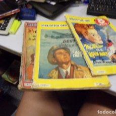 Tebeos: LOTE 3 BIBLIOTECA ORO - AMARILLA NUMERO 330 Y 339 - BELLARION NUMERO 11. Lote 216667007