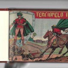 Tebeos: TERCIOPELO NEGRO AÑO 1954 COLECCIÓN COMPLETA SON 25 TEBEOS ORIGINALES ENCUADERNADA EN UN TOMO NUEVO.. Lote 217580263