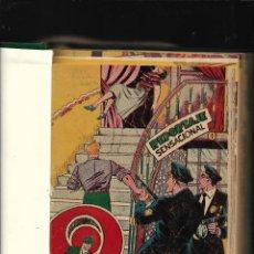 Tebeos: EL PODER INVISIBLE AÑO 1957 COLECCIÓN COMPLETA SON 37 TEBEOS ORIGINALES ENCUADERNADOS UN TOMO NUEVO. Lote 217584792