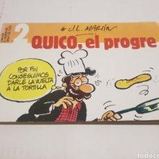 Tebeos: TEBEO QUICO EL POGRE N° 2 EDICION EL JUEVES 1986. Lote 218241741