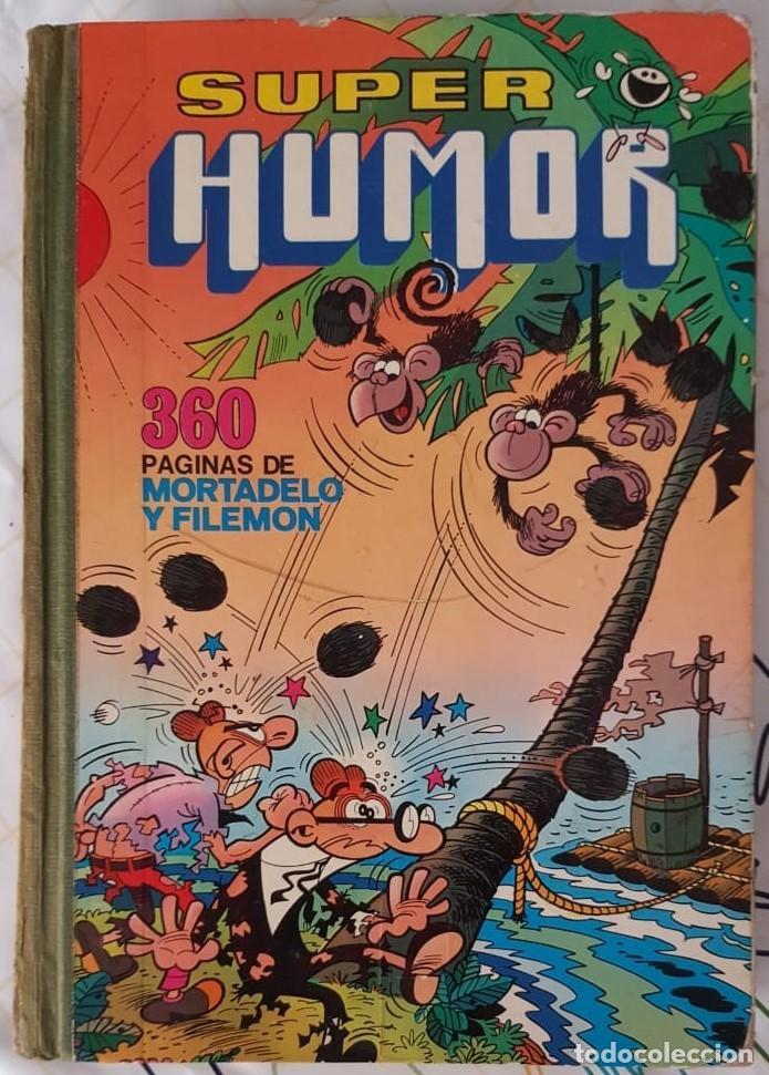 Tebeos: LOTE DE 6 TOMOS DE SUPER HUMOR - Nºs. ROMANOS EN LOMO - BRUGUERA (1975-1985) VER FOTOS Y DESCRIPCIÓN - Foto 4 - 218260838