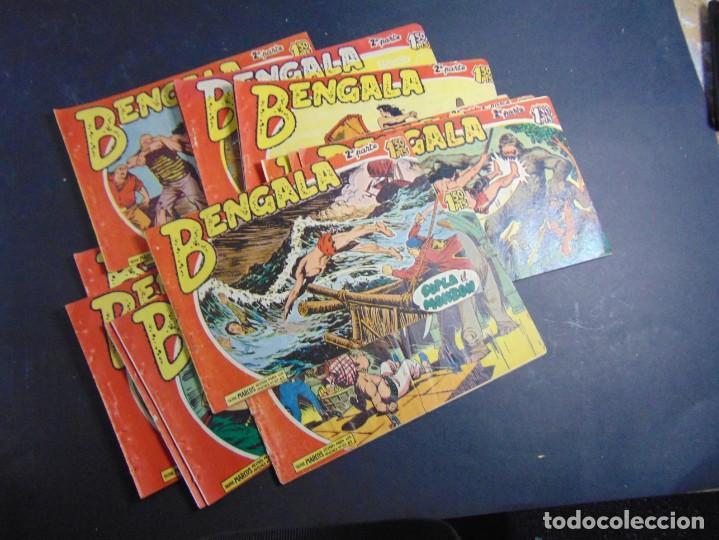 LOTE DE 15 BENGALA 2ª (SUELTOS DE TOMO) (Tebeos y Comics - Tebeos Pequeños Lotes de Conjunto)