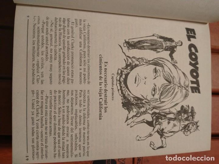 Tebeos: EL COYOTE. UNA CREACION LITERARIA DE JOSE MALLORQUÍ FIGUEROLA. EDICIONES FORUM. 16 TOMOS. 1983. TAPA - Foto 3 - 218855493
