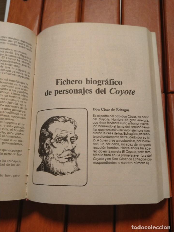 Tebeos: EL COYOTE. UNA CREACION LITERARIA DE JOSE MALLORQUÍ FIGUEROLA. EDICIONES FORUM. 16 TOMOS. 1983. TAPA - Foto 4 - 218855493