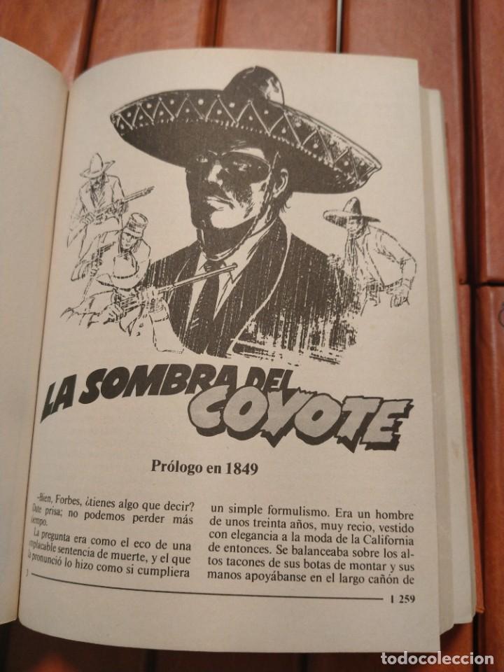 Tebeos: EL COYOTE. UNA CREACION LITERARIA DE JOSE MALLORQUÍ FIGUEROLA. EDICIONES FORUM. 16 TOMOS. 1983. TAPA - Foto 5 - 218855493
