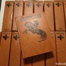 Tebeos: EL COYOTE. UNA CREACION LITERARIA DE JOSE MALLORQUÍ FIGUEROLA. EDICIONES FORUM. 16 TOMOS. 1983. TAPA. Lote 218855493