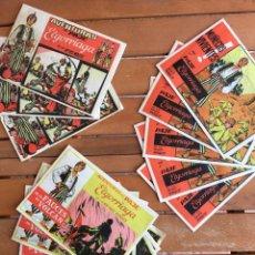 Tebeos: 15 COMICS O TEBEOS EL GORRIAGA AVENTURAS DEL PAJE DE LOS REYES MAGOS, MUÑECOS VIVIENTES PUBLICIDAD. Lote 219052423