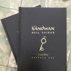 BDs: THE SANDMAN, TOMOS 1 Y 2 (SUEÑO Y DESEO). NEIL GAIMAN.. Lote 217112025