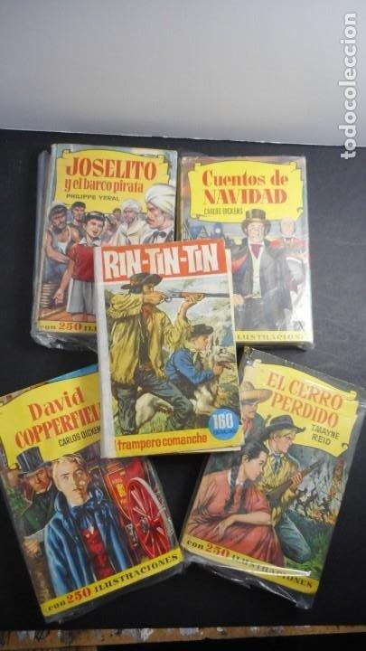 LOTE 5 LIBROS CLÁSICOS BRUGUERA (Tebeos y Comics - Tebeos Pequeños Lotes de Conjunto)