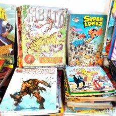 BDs: ¡¡SUPER LOTE!! 20 KILOS DE CÓMICS AÑOS 70/80/90. Lote 220101927