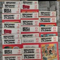 Livros de Banda Desenhada: LO MEJOR DEL COMIC ESPAÑOL BIBLIOTEECA EL MUNDO 23 TOMOS. Lote 220196435