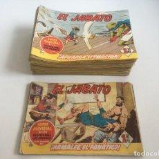 Tebeos: JABATO COMICS, 115 TBOS MAS 7 DE REGALO. Lote 221439283