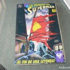 Tebeos: LA MUERTE DE SUPERMAN. Lote 221483052