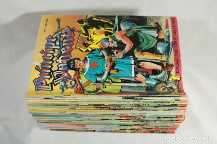 Tebeos: Lote de 83 comics del Principe Valiente - Tebeos SA - Edición Histórica - Hal Foster - Foto 2 - 221599465