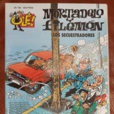 Tebeos: MORTADELO Y FILEMÓN, Nº 59 - COLECCIÓN OLE (ULTIMA EPOCA DE 1993). Lote 221698976