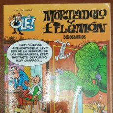 Tebeos: MORTADELO Y FILEMÓN, Nº 81 - COLECCIÓN OLE (ULTIMA EPOCA DE 1993). Lote 221699396