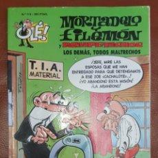 Tebeos: MORTADELO Y FILEMÓN, Nº 114 - COLECCIÓN OLE (ULTIMA EPOCA DE 1993). Lote 221700118