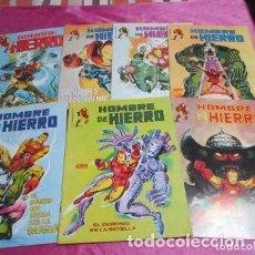 Tebeos: HOMBRE DE HIERRO 7 COMPLETA EDICIONES SURCO. EXCELENTE ESTADO C62. Lote 221703593