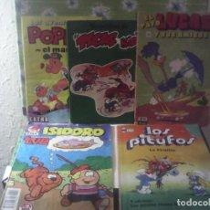 Tebeos: LOTE 5 COMICS AÑOS 80. Lote 221899107