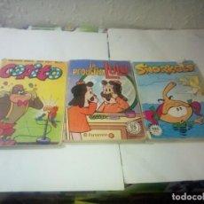 Tebeos: LOTE 3 COMICS AÑOS 80. Lote 221899842