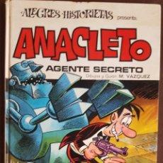 Tebeos: ALEGRES HISTORIETAS, Nº 7, ANACLETO - BRUGUERA (1971). Lote 222198241