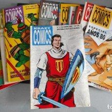 Tebeos: LOTE DE 13 KRAZY COMICS. Lote 222543792