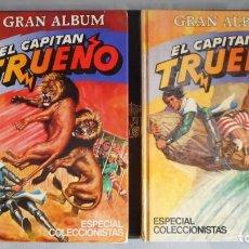 Livros de Banda Desenhada: LOTE DE 2 TOMOS DE GRAN ÁLBUM DEL CAPITAN TRUENO Nº 1 Y 2 (COMPLETA). Lote 222544173