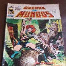 Tebeos: HEROES MARVEL PRESENTA: GUERRA DE MUNDOS, VOL.2, Nº 21 - VERTICE (MUNDI COMICS) 1973. Lote 222548592