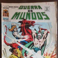 Tebeos: HEROES MARVEL PRESENTA: GUERRA DE MUNDOS, VOL.2, Nº 23 - VERTICE (MUNDI COMICS) 1973. Lote 222548800