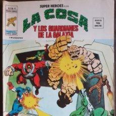 Tebeos: SUPER HEROES PRESENTA: LA COSA Y GUARDIANES DE LA GALAXIA, VOL.2, Nº 42 VERTICE -(MUNDI COMICS) 1973. Lote 222549562