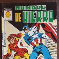 Tebeos: HOMBRE DE HIERRO, Nº 6 - VERTICE (MUNDI COMICS) 1981 (COLOR). Lote 222552157