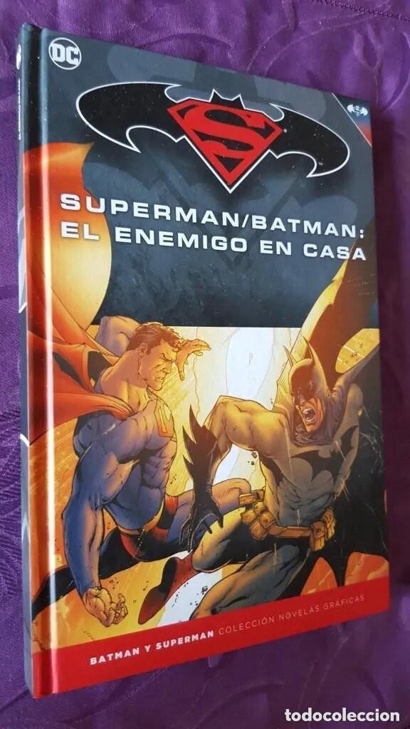 SUPERMAN / BATMAN: EL ENEMIGO EN CASA (TOMO 25) - ECC / SALVAT (Tebeos y Comics - Tebeos Colecciones y Lotes Avanzados)