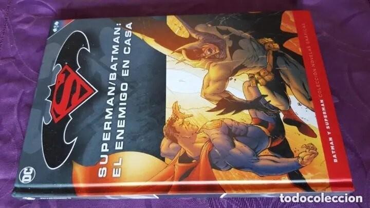 Tebeos: SUPERMAN / BATMAN: EL ENEMIGO EN CASA (TOMO 25) - ECC / SALVAT - Foto 2 - 222840555