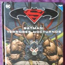 Tebeos: BATMAN: TERRORES NOCTURNOS (TOMO 22) - ECC / SALVAT. Lote 222840825