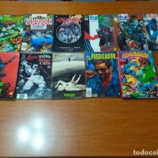 Tebeos: HÉROES DC..PREDICADOR, SUPERMAN, LOBO, DOOM PATROL, ETC.. Lote 222896945