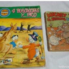 Tebeos: MICKEY Y EL ELEFANTE BOBO 1936 Y DUMBO Nº 116-ORIGINALES-IMPOR, LEER DESCRIPCION Y VER FOTOS. Lote 223018923